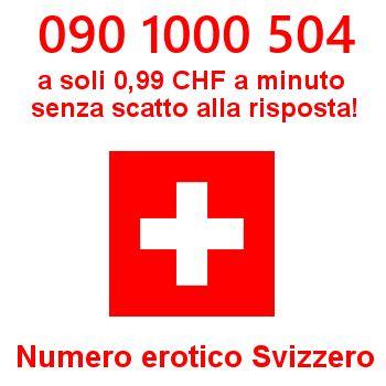 Telefono erotico svizzero